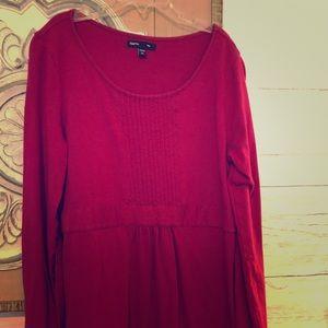 Pretty Plum Colored Girls Gap T Shirt Dress